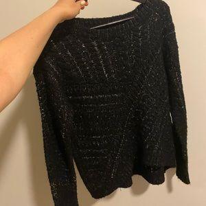 Michael stars black sweater